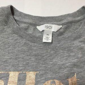 "1901 Tops - 1901 ""Hot Toddy All Day"" Short Sleeve Tee Shirt"